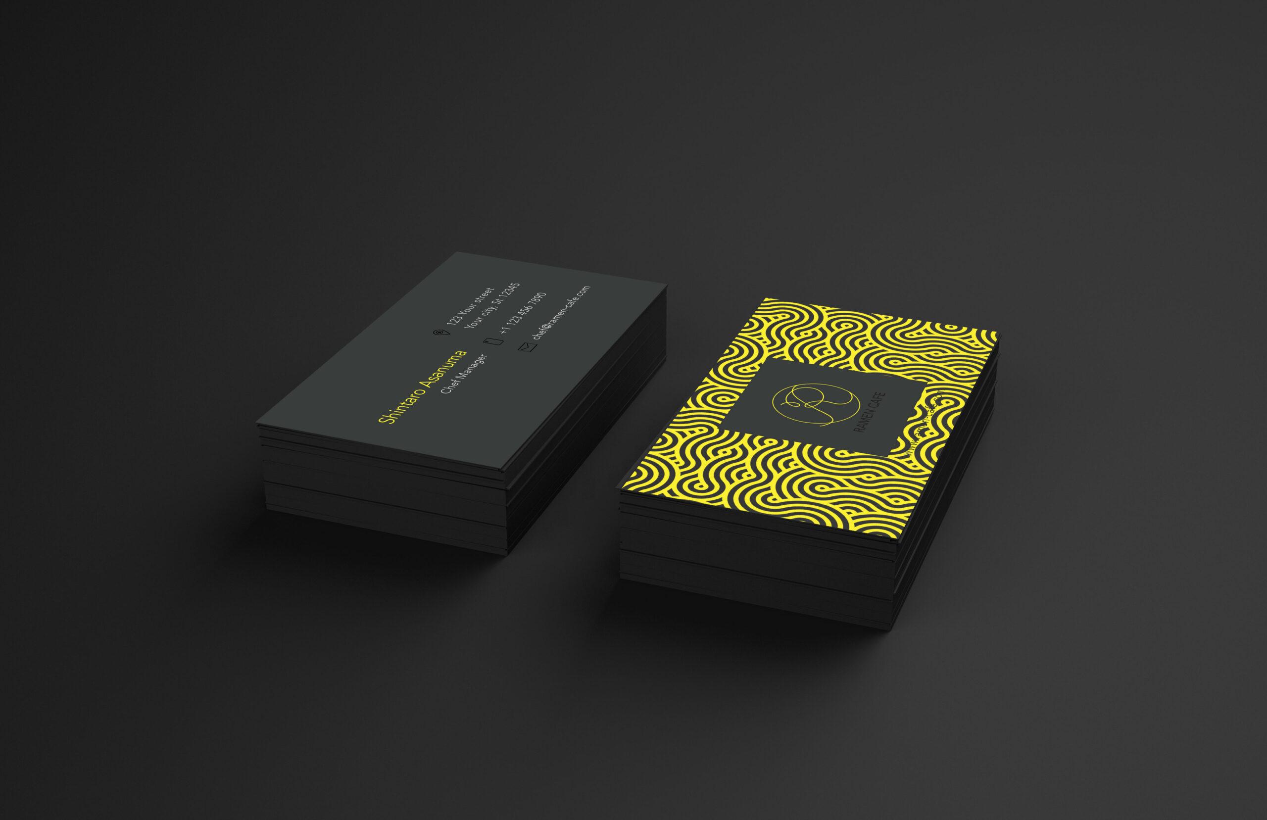 Ramen Café Business Card