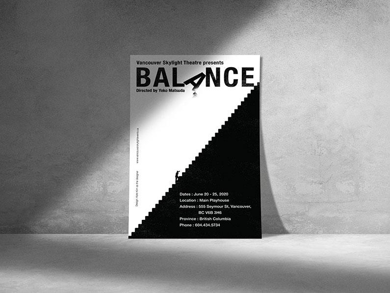 Balance - Program Cover Design